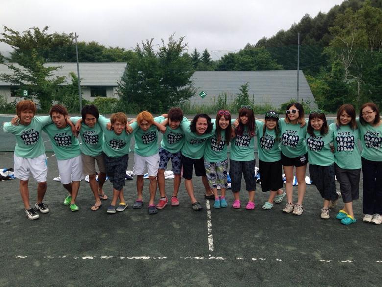テニスサークルの皆さんの思い出を形に