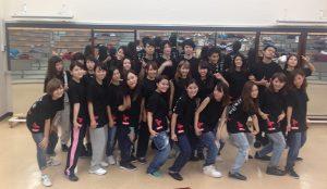 ダンスチームのオリジナルTシャツを作って一致団結